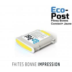 Cartouche Pitney Bowes ® Jaune Connect+1000 / Connect+ 2000 / Connect+ 3000 compatible