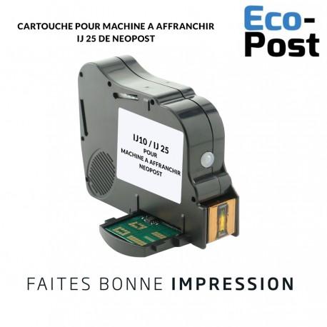 Cartouche Neopost ® IJ25 compatible