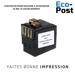 Cartouche Neopost ® IS 350 / IS 300 Série compatible