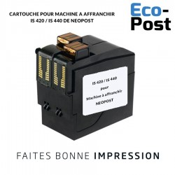 Cartouche Neopost ® IS 420 / IS 440 compatible