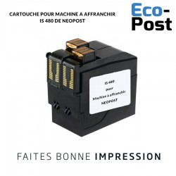 Cartouche Neopost ® IS 480 compatible