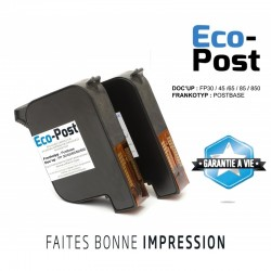 Cartouche FRANCOTYP® POST BASE FP 30 / 45 / 65 / 85 / 850 (lot de 2) 10ml