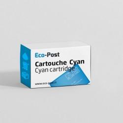 Compatible CANON 0332 C 001 - Cartouche d'encre cyan CLI-571 CXL
