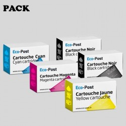 Pack compatible BROTHER LC-1280 XL RBW BPDR - Pack de cartouches