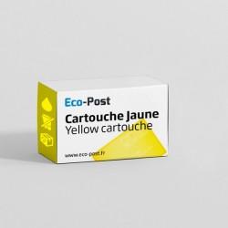 Compatible HP CZ 132 A - Cartouche d'encre jaune 711
