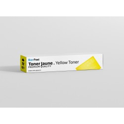 Compatible Konica Minolta 8937-838 - Toner jaune TN-501 Y