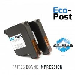 Cartouche Pitney Bowes ® DP200 et DP400 (lot de 2) compatible